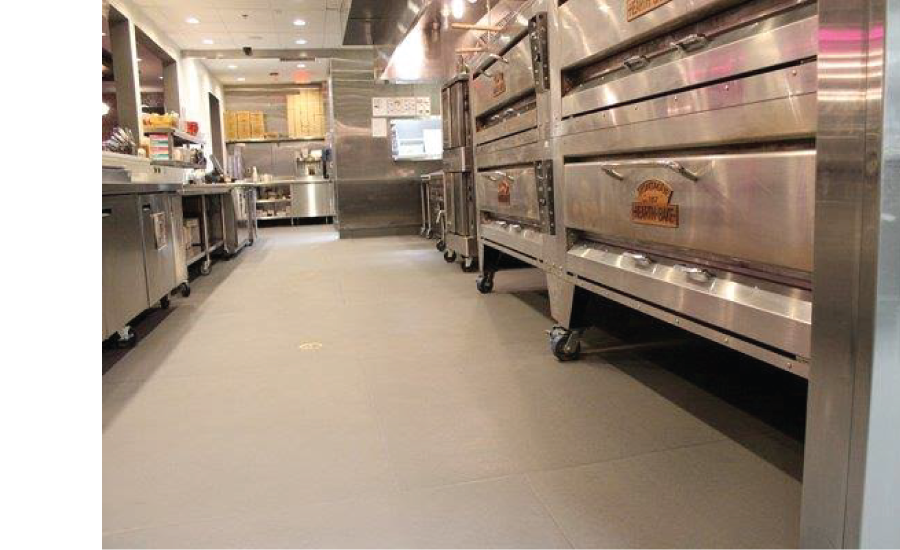 Commercial Kitchen Tile Flooring - Eco-Grip Floor