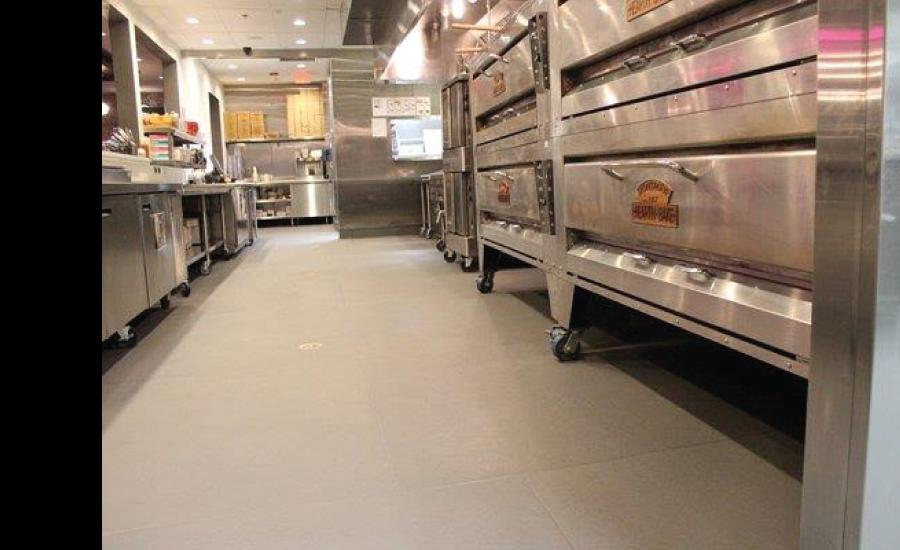 Commercial Kitchen Tile Flooring - Eco-Grip Floor